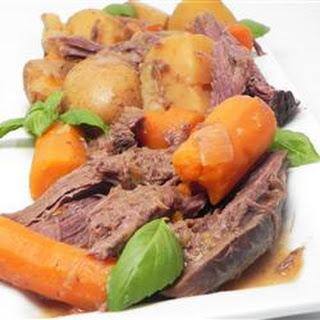 Venison Pot Roast Crock Pot Recipes