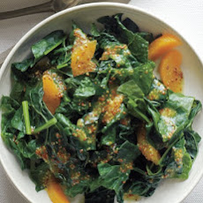 Kale with Oranges and Mustard Dressing
