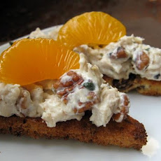 Chicken-Mandarin Orange Spread Sandwiches