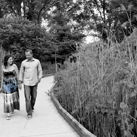by Barb Jackson - People Couples ( pwc, selective color )