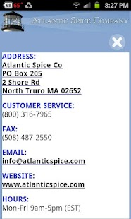 Atlantic Spice Co - screenshot