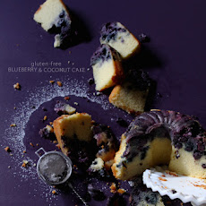 Gluten-Free Coconut Blueberry Cake