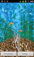 Screenshot of 3D Aquarium Full LWP