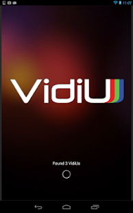 VidiU - screenshot