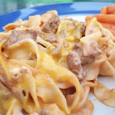 Beef Noodle Bake (Oven or Crock Pot)