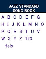 Screenshot of Jazz Standard Chord Song Book'
