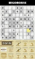 Screenshot of Sudoku Puzzle Deluxe