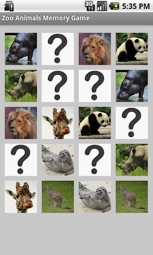 【免費解謎App】Zoo Animals Memory Game-APP點子