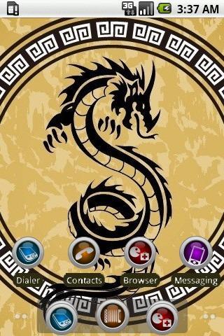 Chinese Dragon [SQTheme] ADW