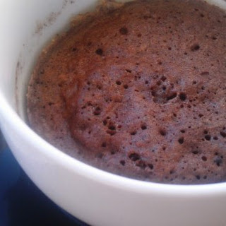 Paleo Chocolate Cake in a Mug
