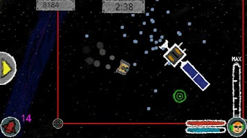 Screenshot of Supernova Sweep-Up Free