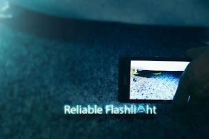 Screenshot of Reliable Flashlight