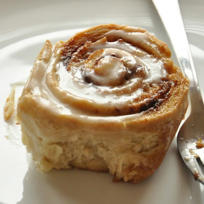 Overnight Honey Wheat Cinnamon Rolls