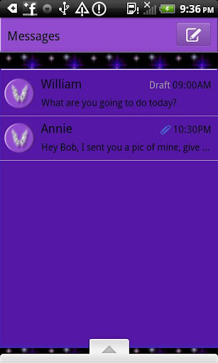 GO SMS THEME ChristCentered2