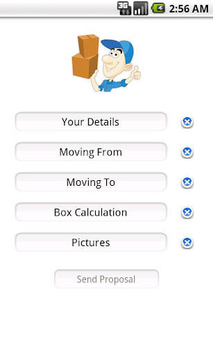 Moving Quote Application