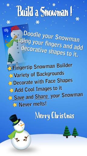 Build a Christmas Snowman