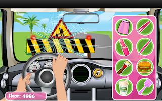 Screenshot of Arabada Eğlence - Kız Oyunları