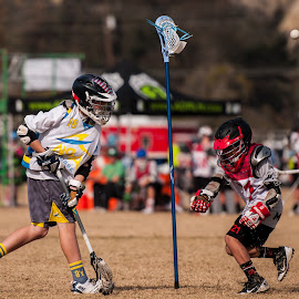 The magical defense. by Kevin Mummau - Sports & Fitness Lacrosse ( defense, lost, stick, alpha, shot, lacrosse )