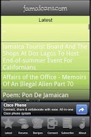 Screenshot of Jamaicans.com