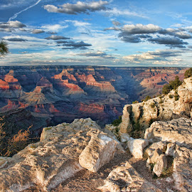 Canyon by Sunset by Fred Herring - Landscapes Travel