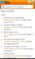 Screenshot of Dicionário Espanhol-Português