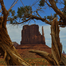 Monument Valley by Ralph Peragine - Landscapes Mountains & Hills