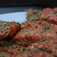 Fresh Herb-Rubbed Salmon Fillets