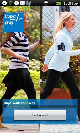 Bupa Walk Your Way