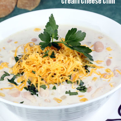 White Chicken Cream Cheese Chili