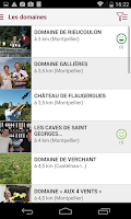 Screenshot of Guide Vins Montpellier Agglo