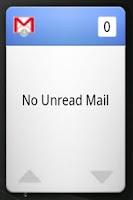Screenshot of GmailWidget+
