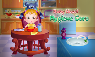 Screenshot of Baby Hazel Hygiene Care