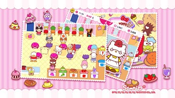 Screenshot of Hello Kitty Cafe Seasons