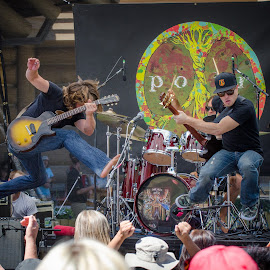 Lukas Nelson and the Promise of the Real by Richard Tilton - People Musicians & Entertainers ( music, concert, musicians, utah, lukas nelson, snowbasin ski resort )