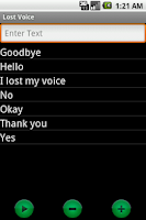 Screenshot of Lost Voice
