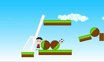 Screenshot of Rolling Football