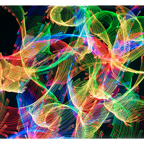 Blustery light ! by Jim Barton - Abstract Patterns ( laser light, colorful, light design, laser design, laser, laser light show, light, blustery light, science )