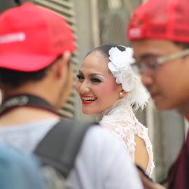 Beautiful Smile by Namanya Albar - People Street & Candids ( woman, photoshoot, candid, beauty, smile )