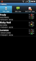 Screenshot of CSBFake Call/SMS/Battery