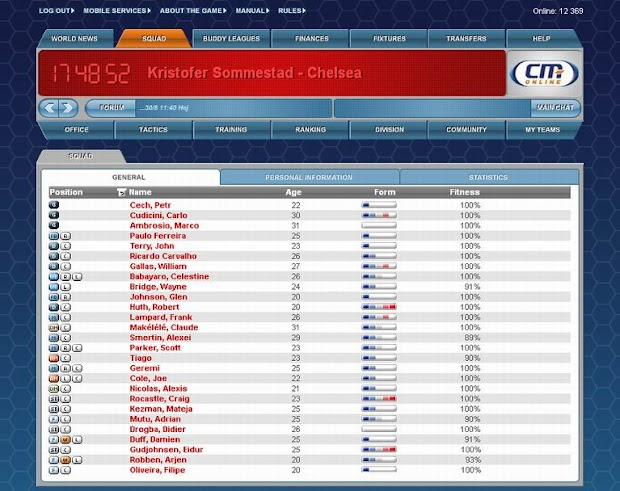 GSL 2004: Championship Manager Online