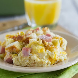 Ham and Cheese Breakfast Casserole