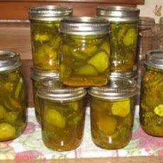 Crisp Bread and Butter Pickles