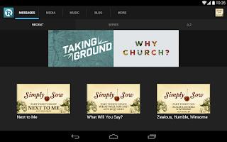 Screenshot of The Rock Church