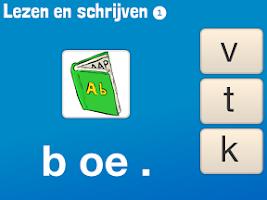 Screenshot of Lezen en Schrijven 1 - Lezen