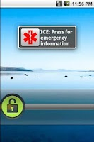 Screenshot of Emergency Information ICE