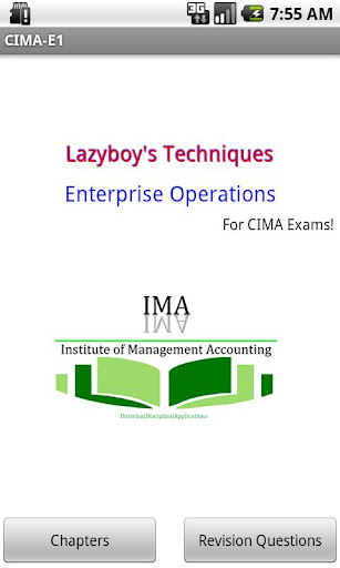Enterprise Operations CIMA E1