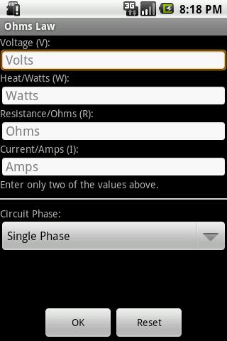 免費下載工具APP|Ohm's Law app開箱文|APP開箱王