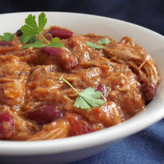 Quick Red Chicken Chili (With Chocolate!)
