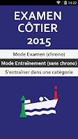 Screenshot of Examen Permis Bateau Côtier