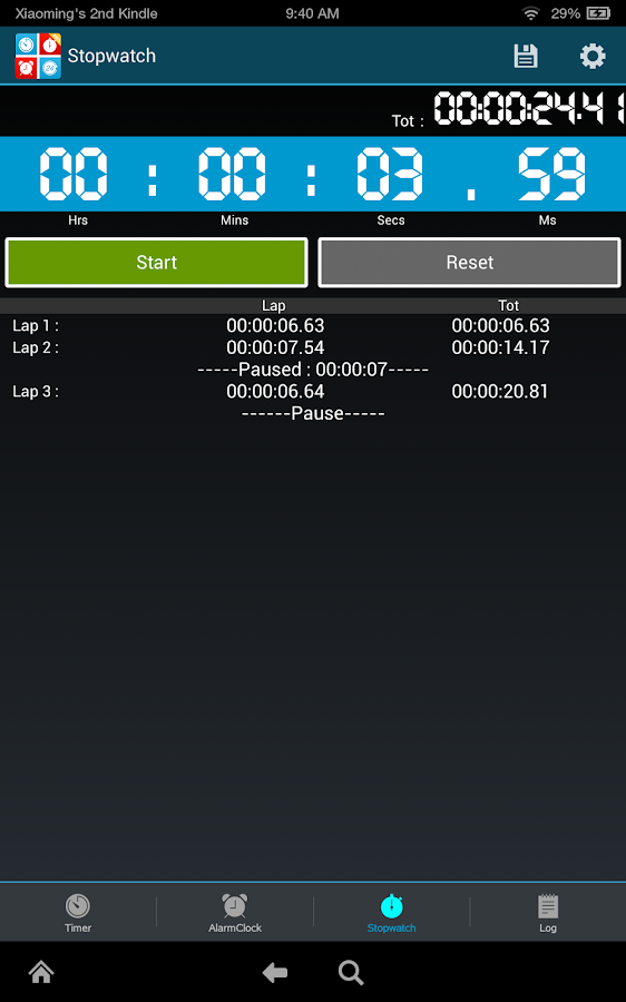 Timers4Me Timer&Stopwatch Pro Screenshot 14